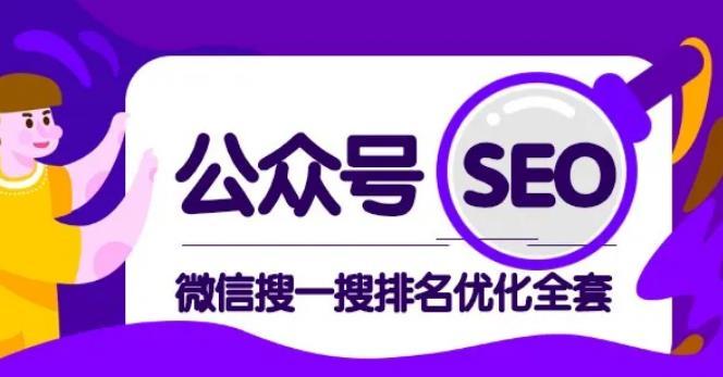公众号seo,微信搜一搜排名优化课,每日被动精准引流上百【视频课程】